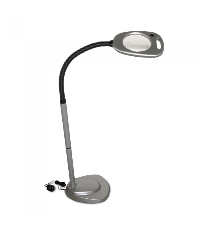 12 Led Floor Light And Magnifier