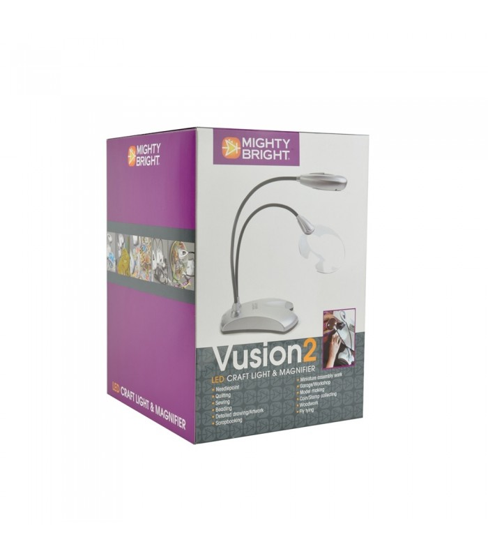 Vusion 2 Led Craft Light And Magnifier