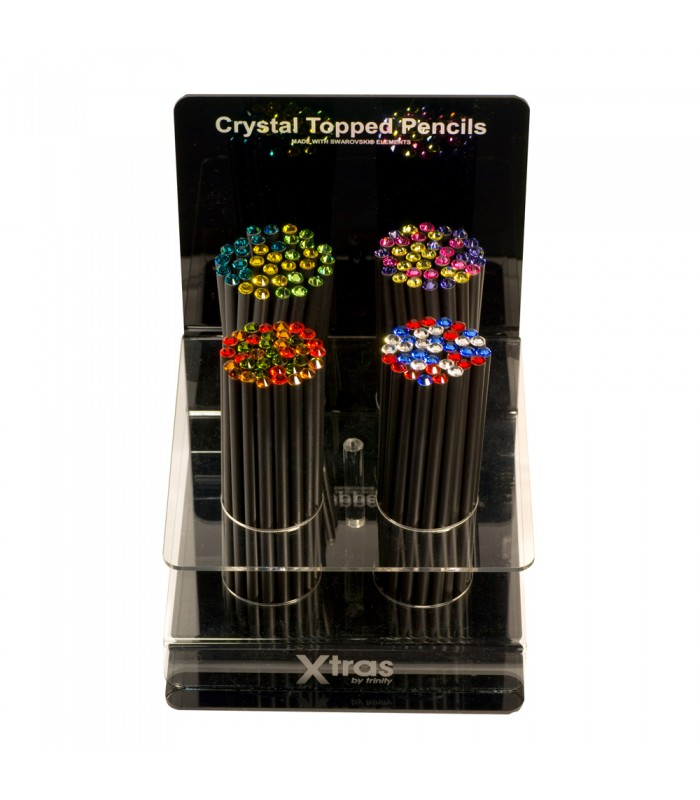Crystal Tipped Pencil Display