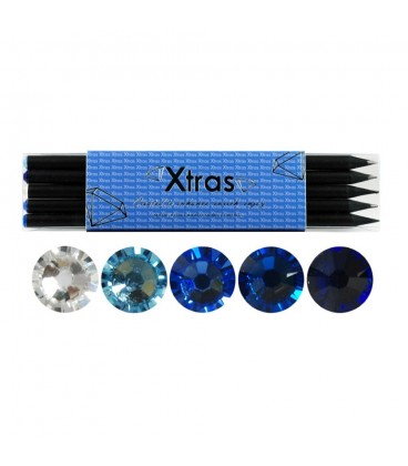 5 Piece Crystal Pencil Set
