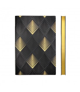 Signature Art Deco A5 Dotted Notebook - Pyramid