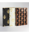 Signature Art Deco A5 Dotted Notebook - Weave