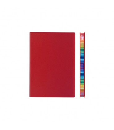 2018 Signature Chromatic A6 Diary - Red