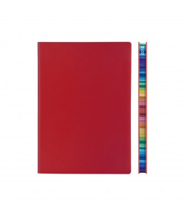 2018 Signature Chromatic A5 Diary - Red