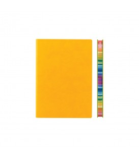 2018 Signature Chromatic A6 Diary - Yellow