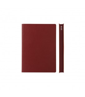 2018 Signature A6 Diary - Red