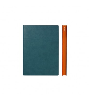 2018 Signature A6 Diary - Green