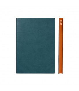 2018 Signature A5 Diary - Green