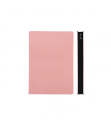 2018 Signature A6 Diary - Pink
