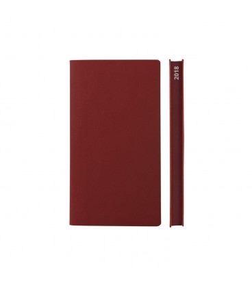 2018 Signature Pocket Diary - Red