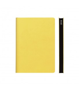 2018 Signature A5 Diary - Yellow