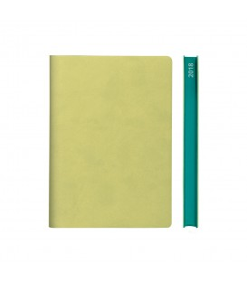 2018 Signature A5 Diary - Light Green