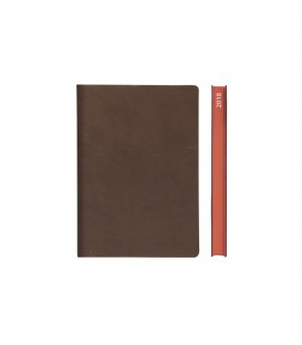 2018 Signature A6 Diary - Brown