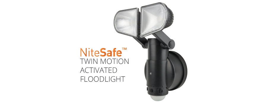 New Product - Twin Motion Activated Floodlight
