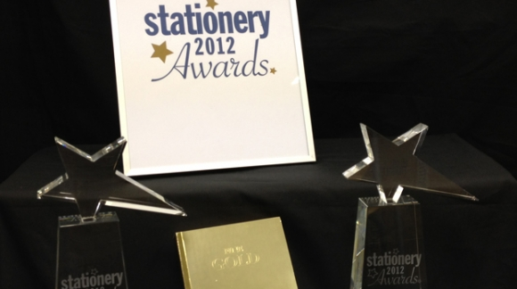 "Top Prizes for the ""Gold Slab"" at London Stationery Show 2012"